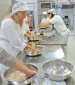 Il laboratorio pasticceria di Sarzana